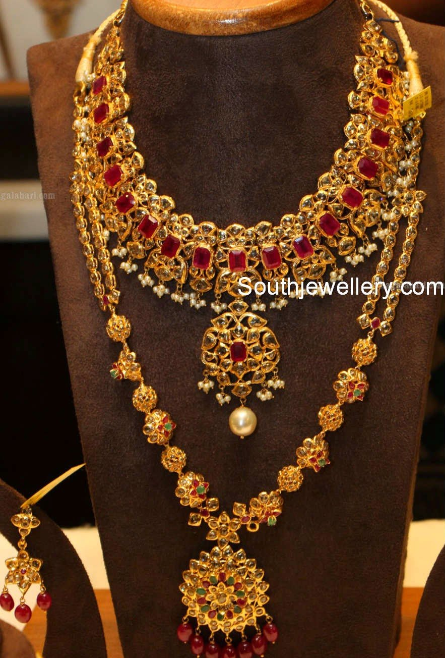 Ruby earrings malabar ~ beautify themselves with earrings