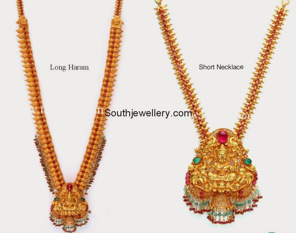 5 in 1 Lakshmi Vaddanam - Jewellery Designs