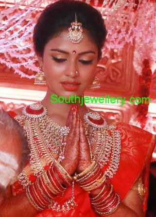 Amala Paul Wedding Jewellery Jewellery Designs