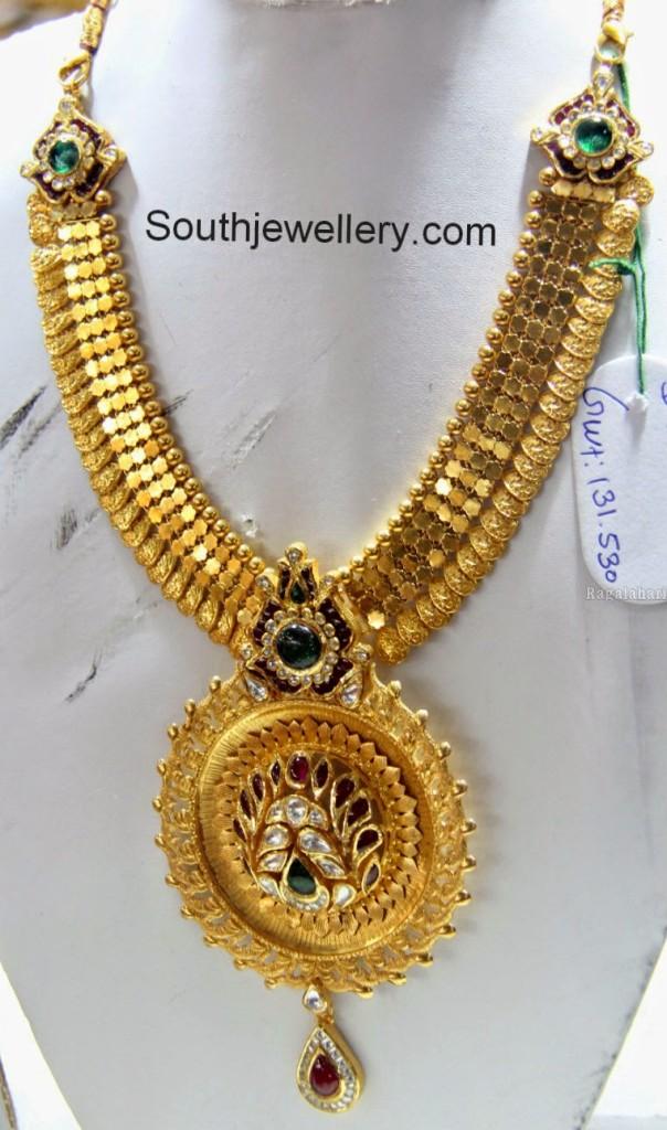 kasu necklace designs