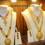Uncut Diamond Necklace and Gundla Haram Set
