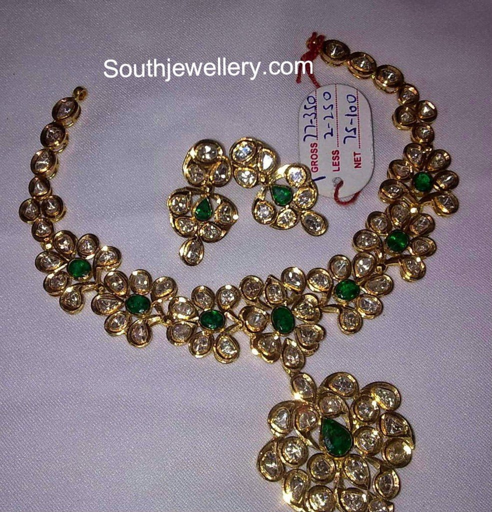 latest pacchi necklace designs