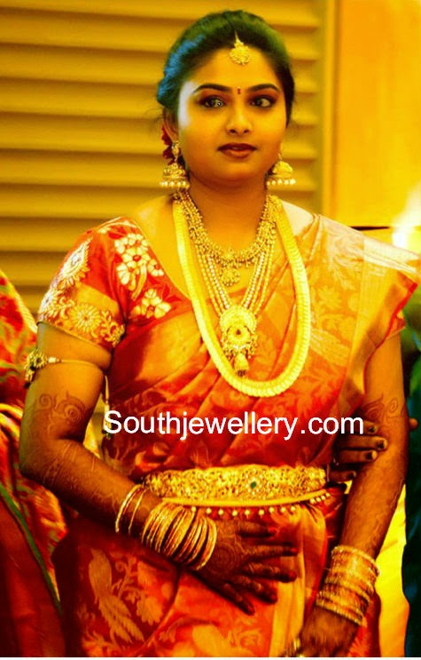 gopichand wife reshma wedding jewellery