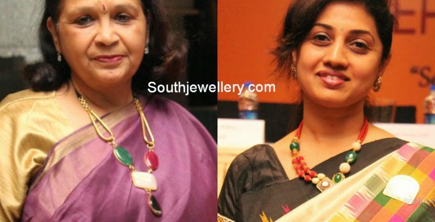 ruby emerald necklace designs