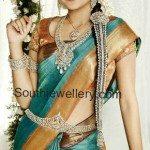 Gorgeous Trisha in Complete Bridal Diamond Jewellery Set
