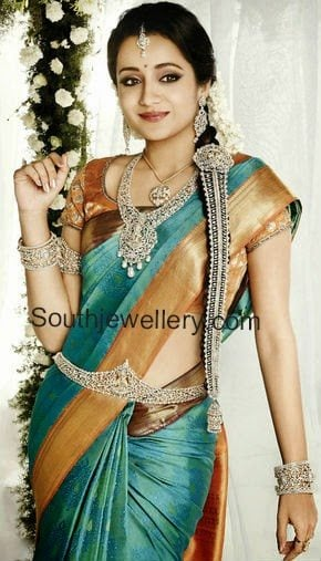 trisha nac diamond jewellery ad