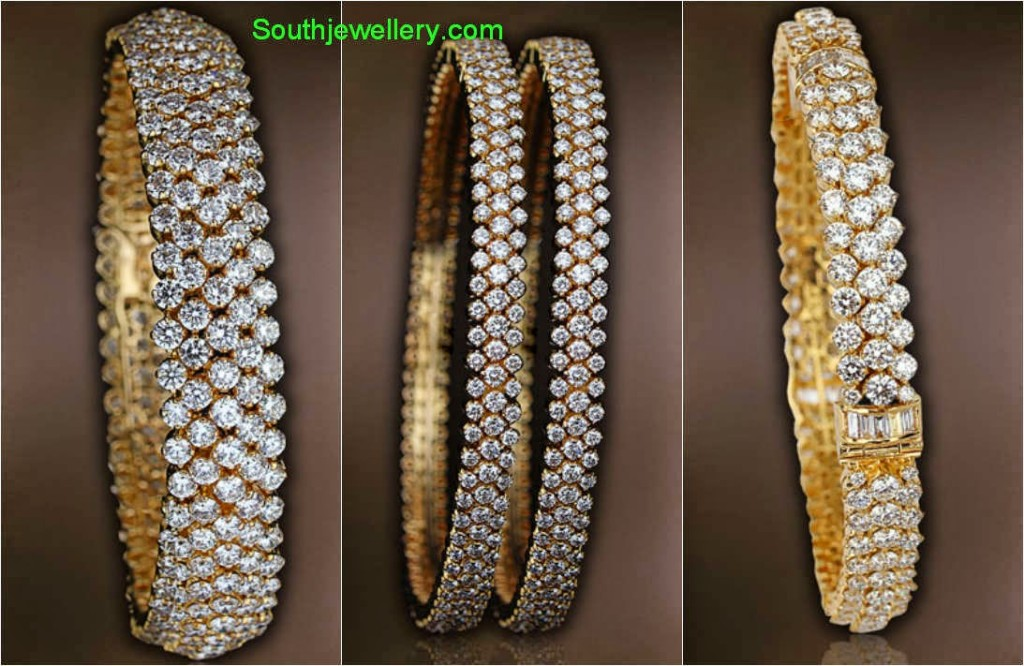 diamond bangles collection