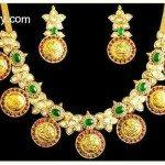 Pacchi Lakshmi Kasu Necklace