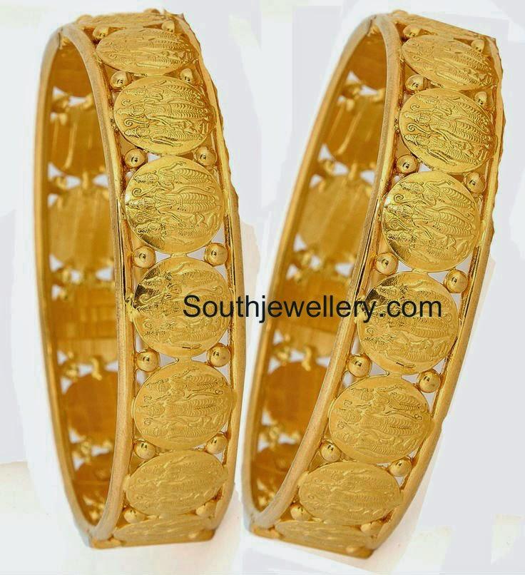 ram sita gold coin bangles