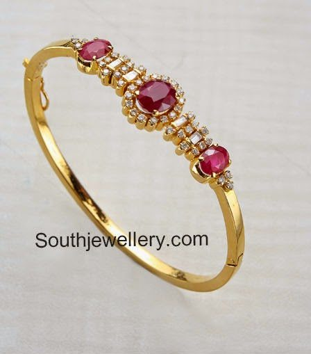 ruby diamond bracelets