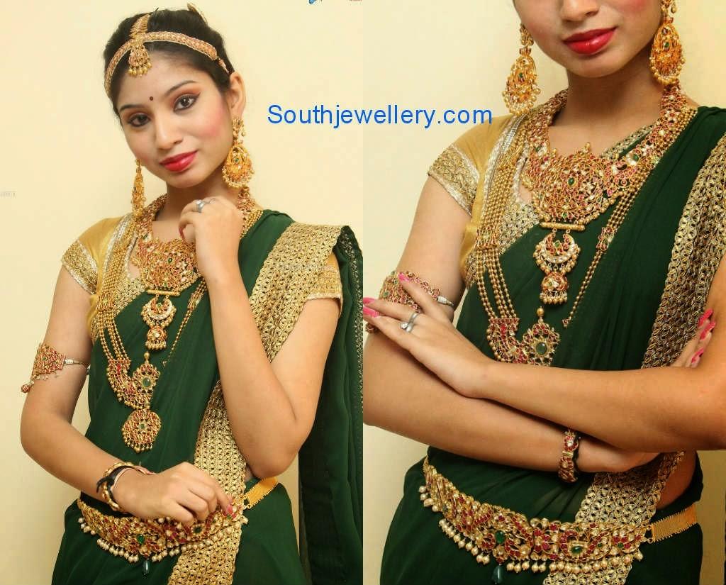 ruby bridal jewellery