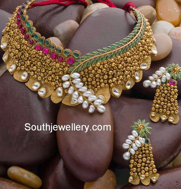 Antique Jewellery Necklaces Antique Bridal Necklace