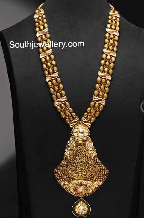 latest antique necklace designs