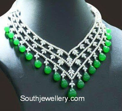 diamond gemstones necklace