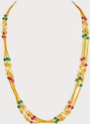 One Gram Gold Beads Mala