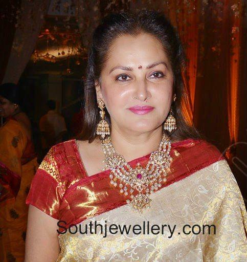 jaya pradha diamond necklace