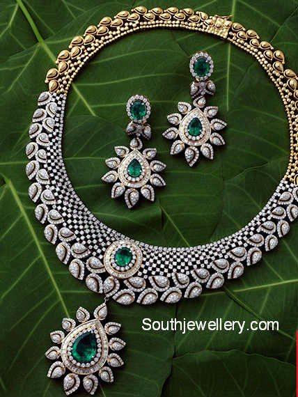 kalyan jewelelrs diamond necklace