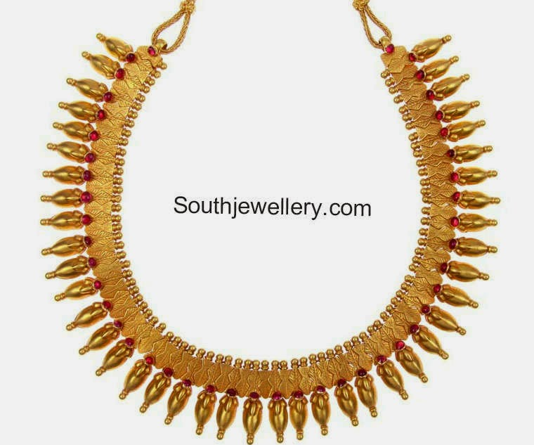 Gold Necklace latest jewelry designs