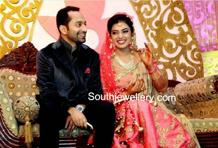 Nazriya Nazim - Fahad Fazil Wedding Reception Photos