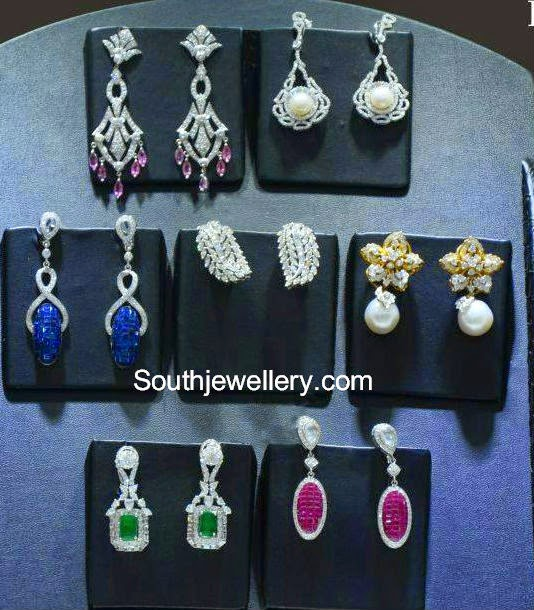 pc jewellers diamond earrings collection