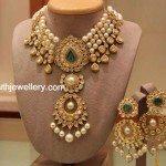 South Sea Pearls Kundan Choker