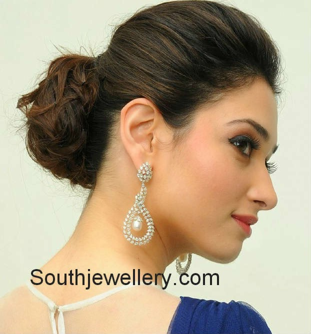 tamanna diamond earrings