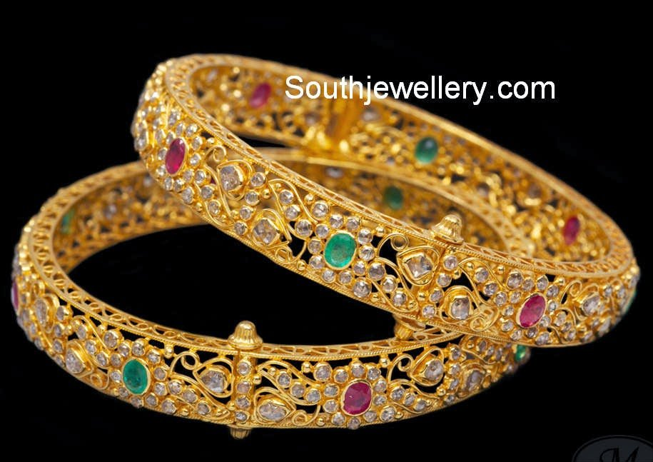 ring pakistani attractive design k designs plated thecolorbars gold