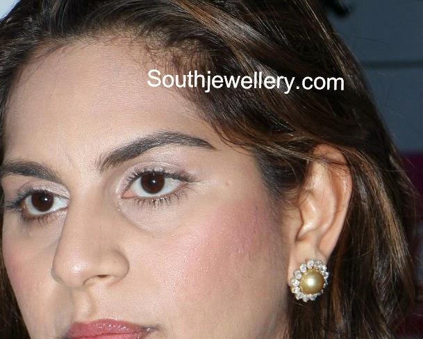 upasna kamineni diamond earrings