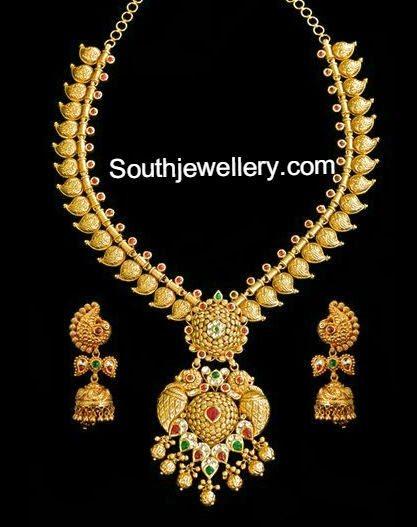 mango necklace models