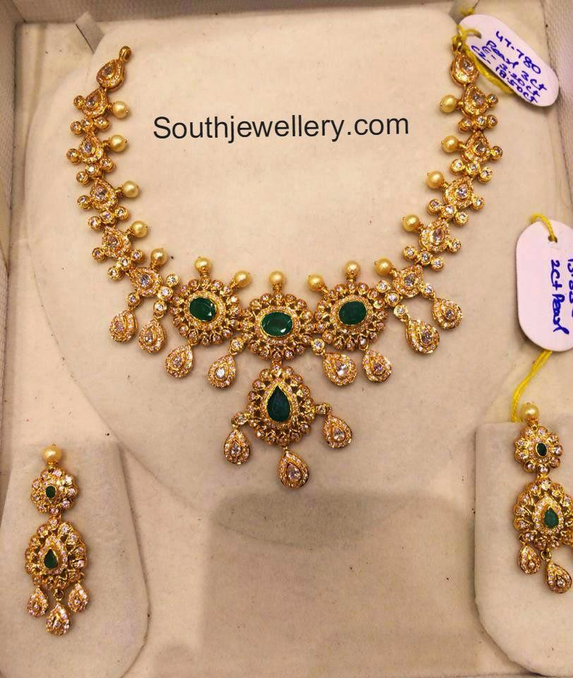 cz necklace models