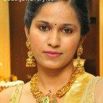Elegant Nakshi Peacock Necklace and Jhumkas