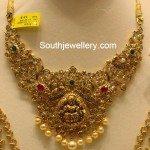 Gorgeous Uncut Lakshmi Necklace