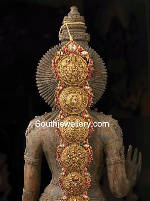 antique gold jada