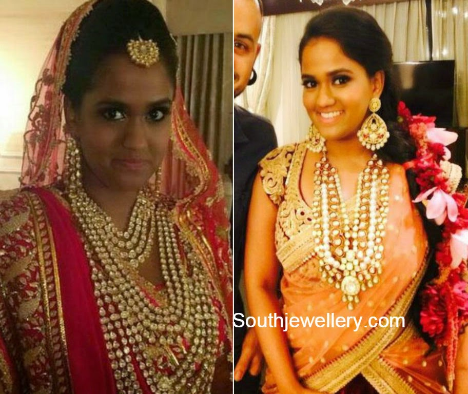 arpita khan wedding jewellery