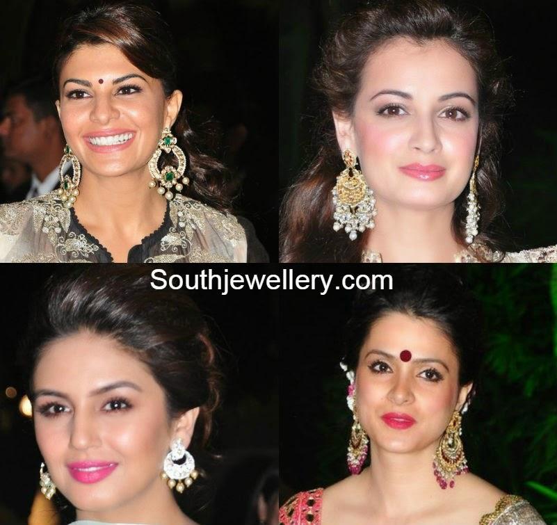 bollywood celebs jewellery at arpita khan wedding