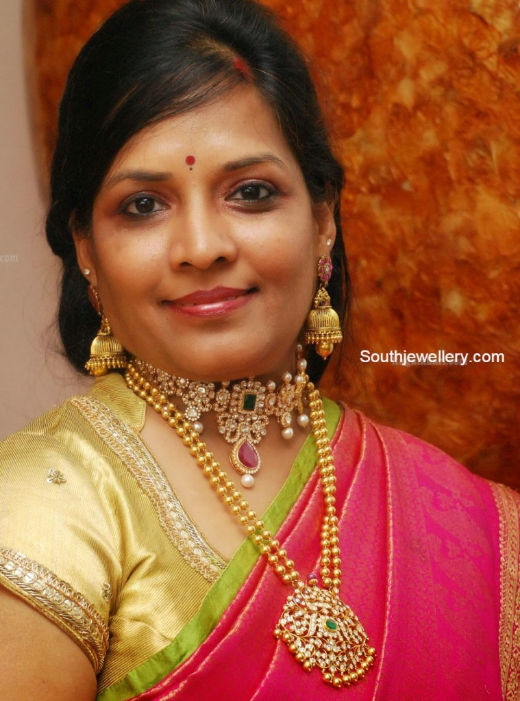 Gundla Mala and Kundan Choker
