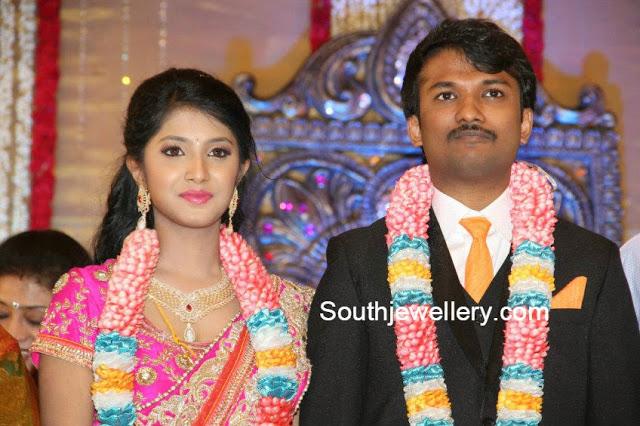 raj tv md daughter wedding reception
