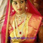 Bride in Elegant Wedding Jewellery