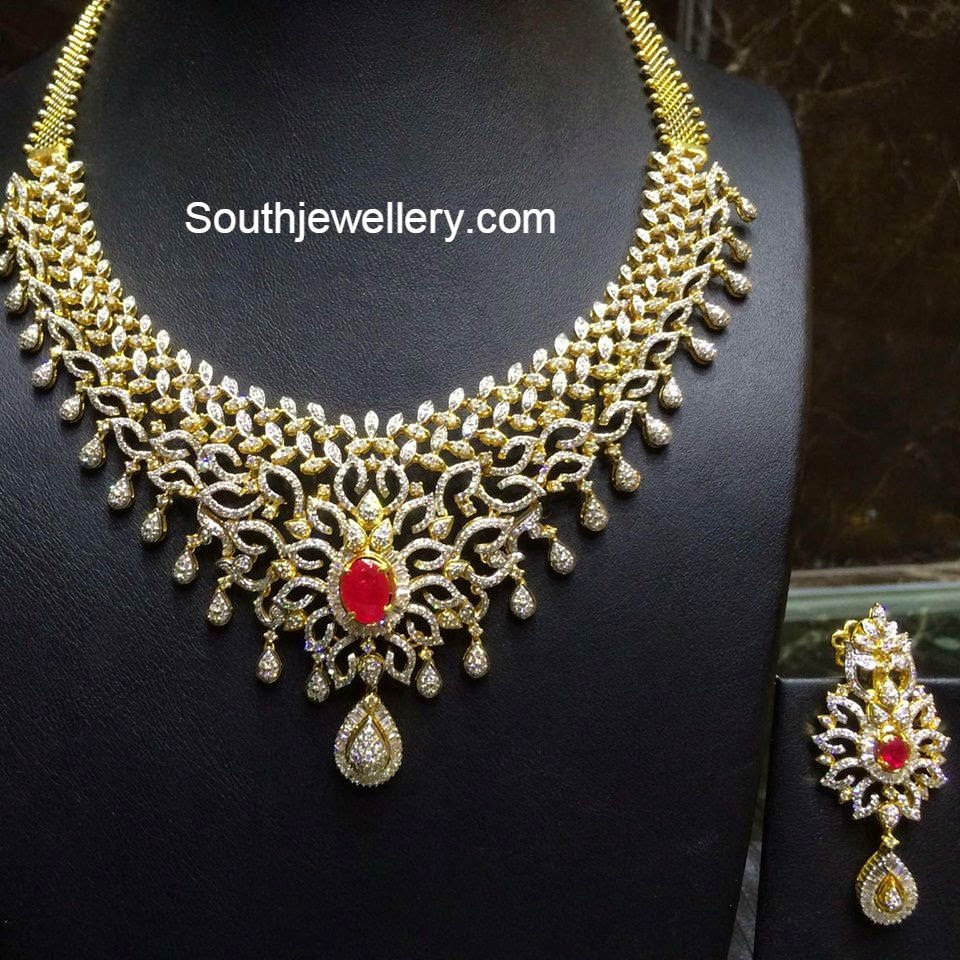 chokers necklaces product indian necklace diamond water haram