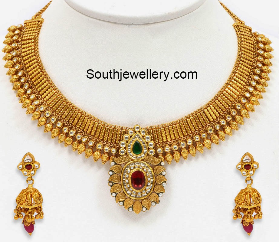 Gold Necklace latest jewelry designs - Page 17 of 62 ...