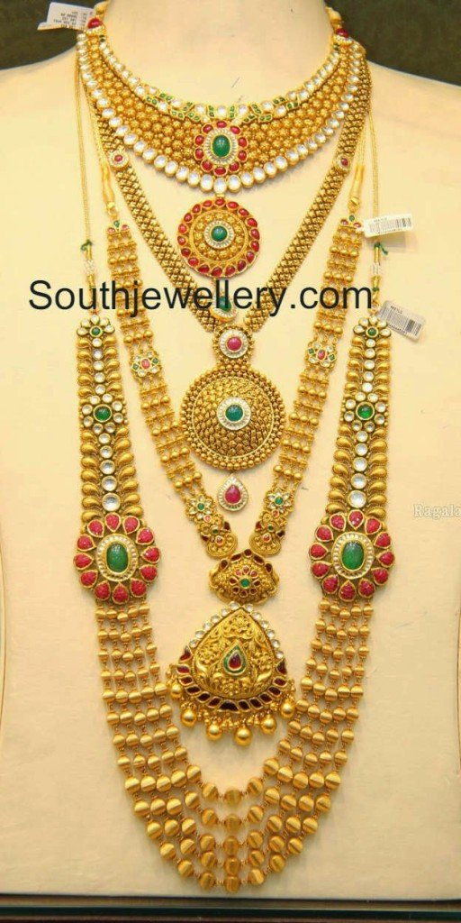 Malabar Gold Antique Necklace and Gundla Mala Collections ...