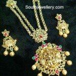 Lakshmi Uncut Pacchi Necklace