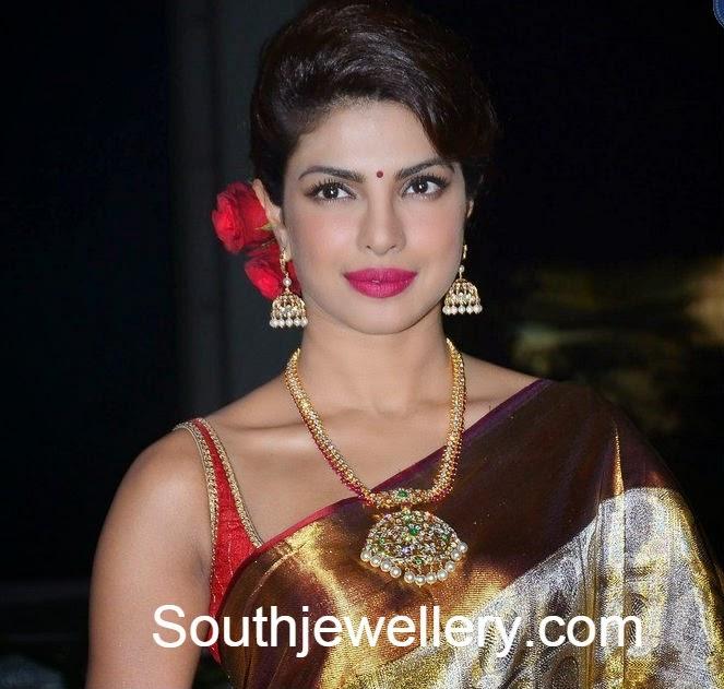 priyanka chopra diamond necklace