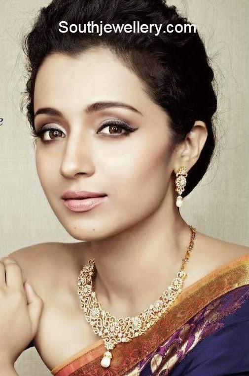 trisha nac diamond jewellery ad