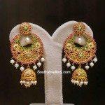 Ruby Emerald Chandbali's