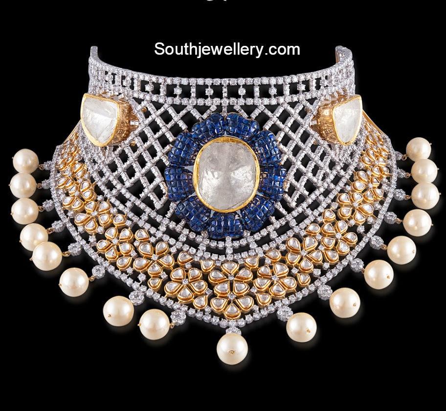 stunning diamond necklace