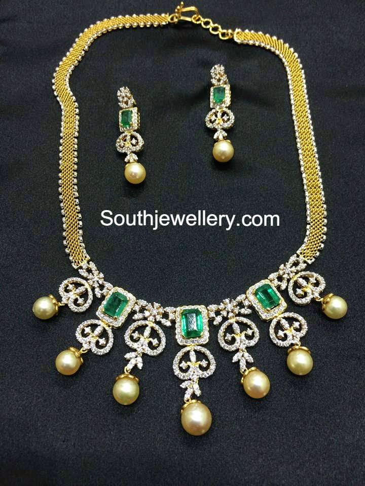 diamond necklace models
