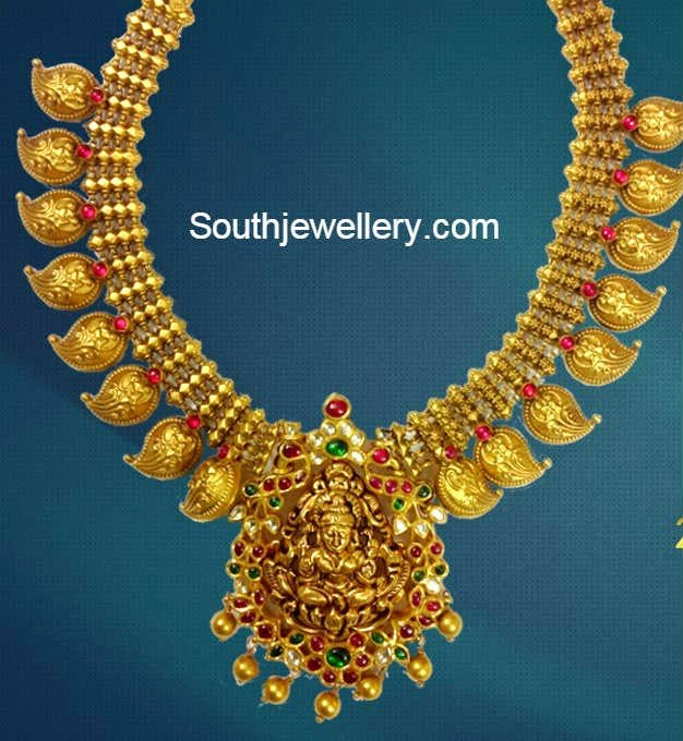 latest temple jewellery collection