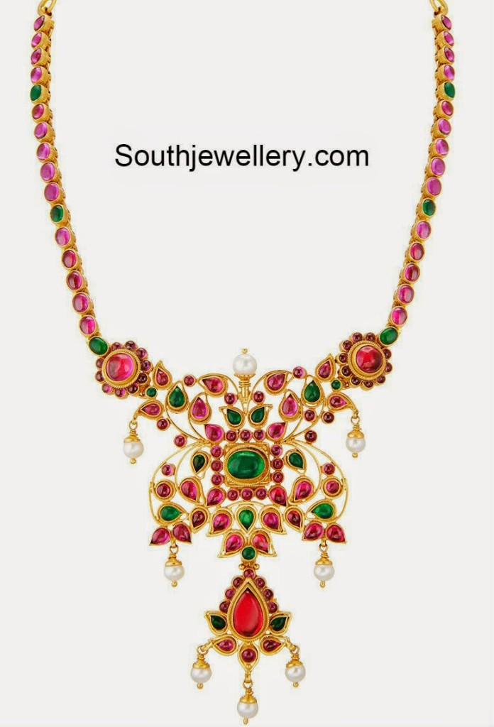 Ruby Necklace Latest Jewelry Designs Page 13 Of 35