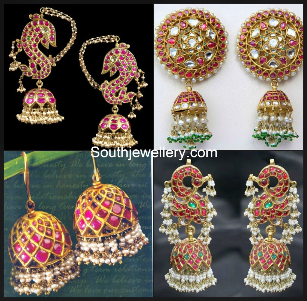 ruby pearl jhumkas collection
